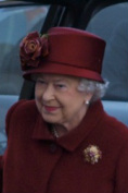 Queen Elizabeth II during her recent visit to Merseyside Picture Copyright © William Boyce